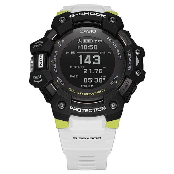 G-SHOCK ジーショック CASIO カシオ G-SQUAD 心拍 GPS スマートフォンリンク 腕時計 メンズ GBD-H1000-1A7JR