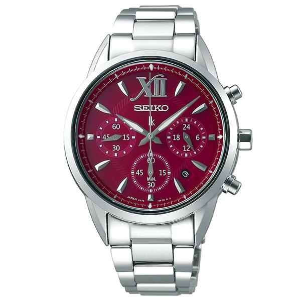 SEIKO LUKIA  セイコールキア ソーラークロノグラフ  腕時計 レディス SSVS039