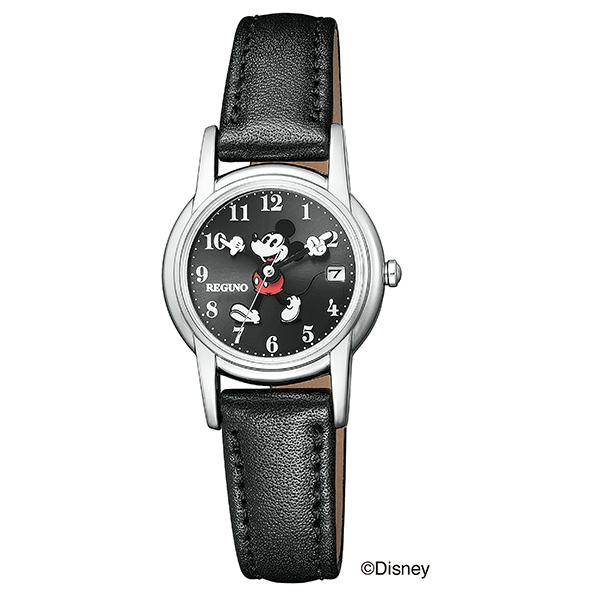 シチズン レグノ CITIZEN REGUNO Disneyディズニーコレクション 「ミッキーマウス」モデル ソーラー 腕時計 レディス KP7-118-50
