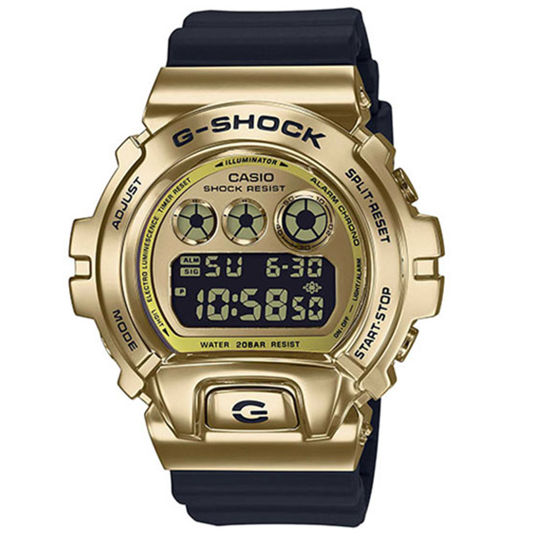G-SHOCK カシオ Gショック METAL COVERED メタルカバー 腕時計 メンズ GM-6900G-9JF
