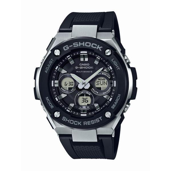 G-SHOCK ジーショック CASIO カシオ G-STEEL 【国内正規品】 腕時計 メンズ GST-W300-1AJF 【送料無料】