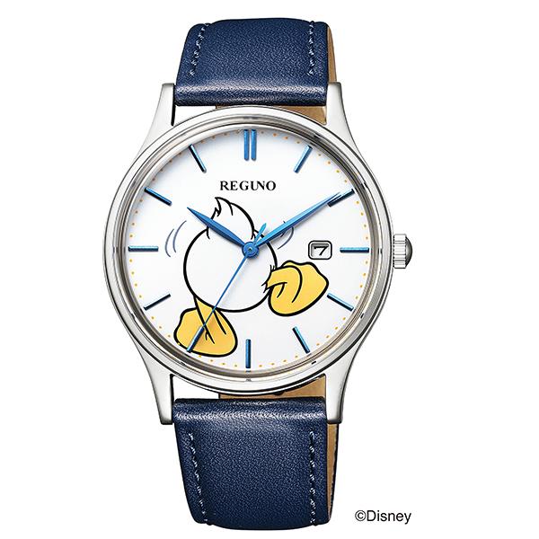 シチズン レグノ CITIZEN REGUNO Disneyディズニーコレクション 「ドナルドダック」 限定モデル 腕時計 レディス KH2-910-10
