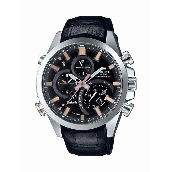 EDIFICE エディフィス CASIO カシオ TIME TRAVELLER タイムトラベラー 【国内正規品】 腕時計 メンズ EQB-501L-1AJF 【送料無料】