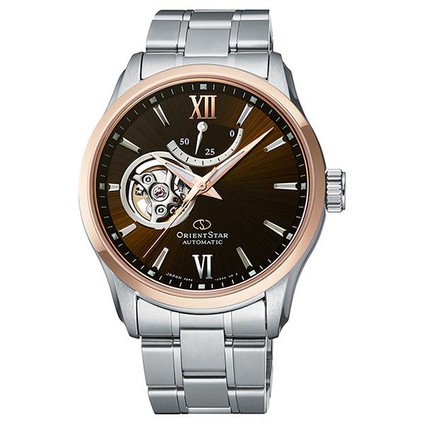 オリエントスター ORIENT STAR 腕時計 メンズ  機械式自動巻 コンテンポラリー セミスケルトン RK-AT0005Y