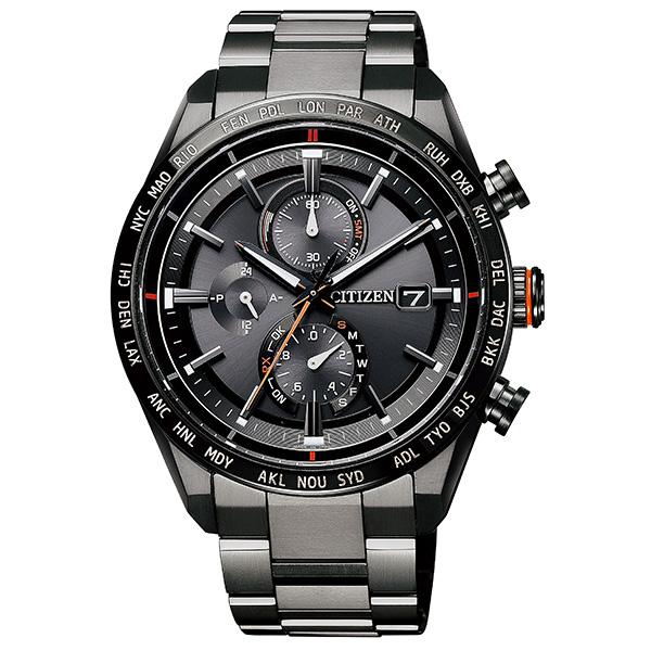 CITIZEN シチズン ATTESA アテッサ エコ・ドライブ電波時計 ダイレクトフライト ACT Line  腕時計 メンズ AT8185-62E