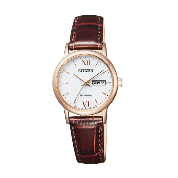 CITIZEN COLLECTION シチズンコレクション エコ ドライブ ペア 【国内正規品】 腕時計 レディース EW3252-07A 【送料無料】