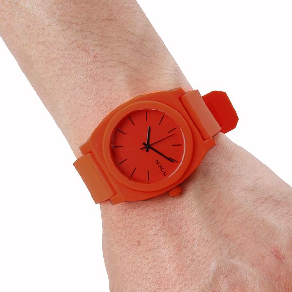 NIXON尼克松Time Teller P taimutera Neon Orange手表橙子女士NA1191156