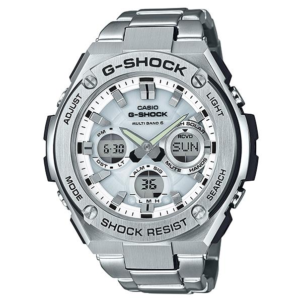 G-SHOCK ジーショック G-STEEL ジースチール 電波ソーラー 腕時計 メンズ GST-W110D-7AJF 【送料無料】