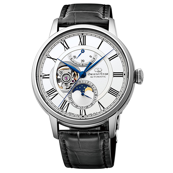 オリエントスター ORIENT STAR 腕時計 メンズ  機械式自動巻 メカニカルムーンフェイズ RK-AM0001S