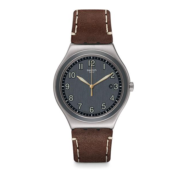 SWATCH スウォッチ アイロニービッククラシック BRANDY ブランディ 腕時計 YWS445 【送料無料】