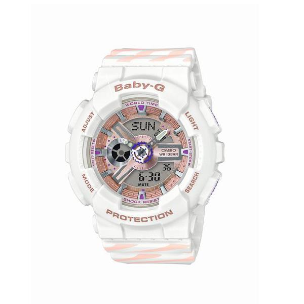 Baby-G ベビージー CASIO カシオ PUNTO IT DESIGN  【国内正規品】 腕時計 レディース BA-110CH-7AJF 【送料無料】