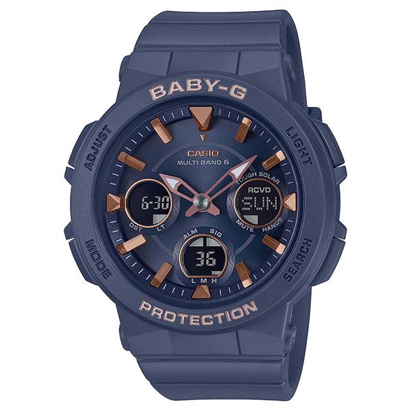 BABY-G カシオ ベイビージー 腕時計 レディス  電波ソーラー BGA-2510-2AJF