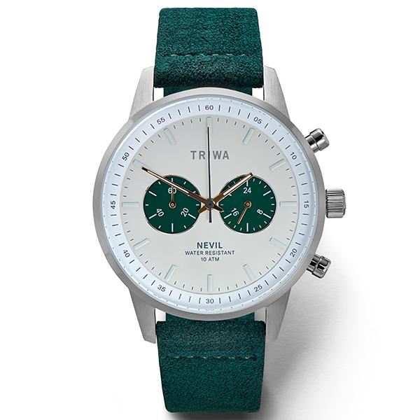 TRIWA トリワ 腕時計 EMERALD NEVIL ネヴィル GREEN VEGAN SUEDE NEST121-CL210912P