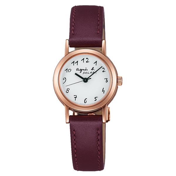 agnes b. HOMME アニエス ソーラー Marcello マルチェロ 腕時計 レディース FBSD962 【送料無料】