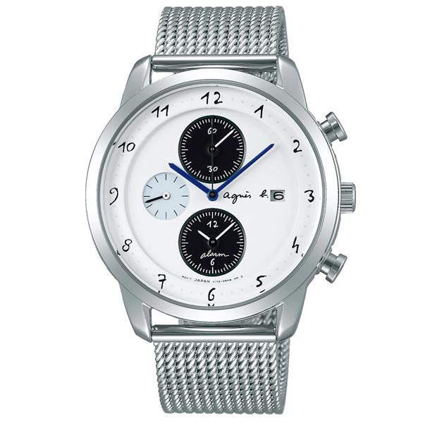 agnes b. アニエスベー Marcello マルチェロ メッシュ ソーラー 国内正規品 腕時計 メンズ FBRD944 【送料無料】