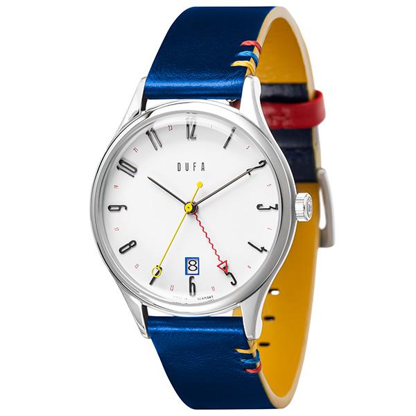 DUFA ドゥッファ BAUHAUS 100YEARS EDITION WEIMAR ワイマール 100周年記念  GMTモデル 腕時計 メンズ DF-9006-0C