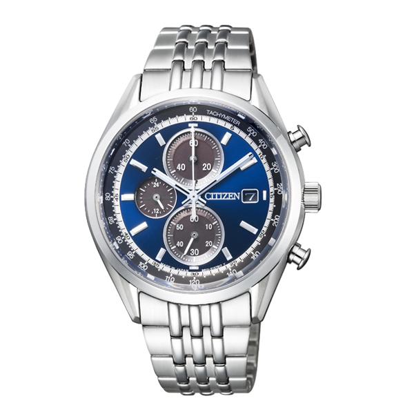 CITIZEN COLLECTION シチズンコレクション エコ・ドライブ 1/5秒 クロノグラフ 【国内正規品】 腕時計 メンズ CA0450-57L 【送料無料】