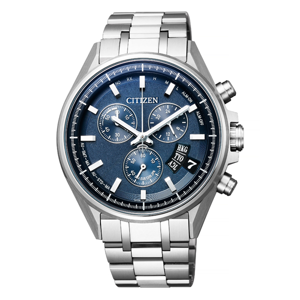 CITIZEN シチズン ATTESA アテッサ エコドライブ電波時計 ダイレクトフライト 腕時計 BY0140-57L 【送料無料】