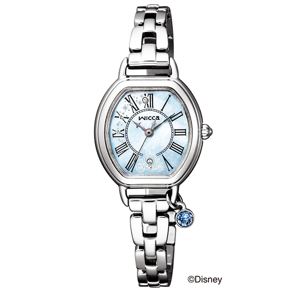 wicca ウィッカ CITIZEN シチズン Disney コレクション シンデレラ 限定モデル 腕時計 KP2-515-71 【送料無料】