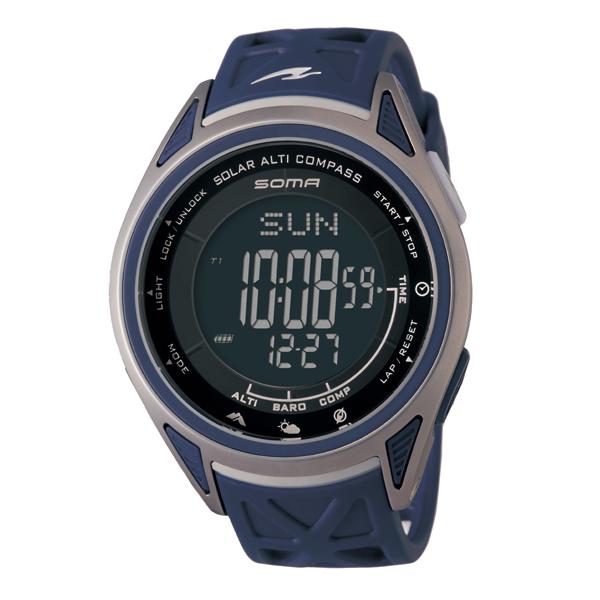SOMA ソーマ RideONE SOLAR ALTI COMPASS GO OUT Limited 【国内正規品】 腕時計 NS24702 【送料無料】