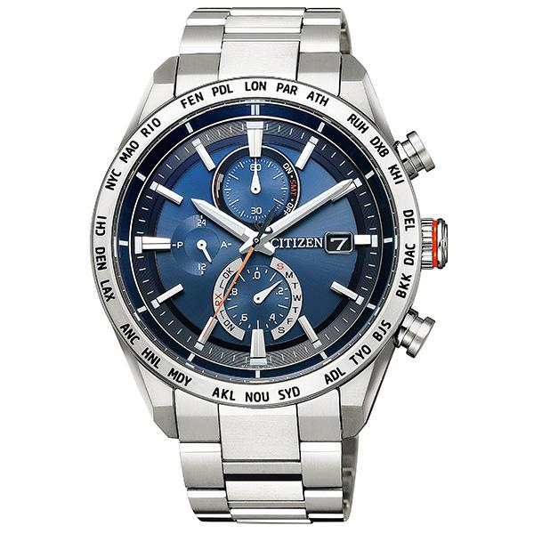 CITIZEN シチズン ATTESA アテッサ エコ・ドライブ電波時計 ダイレクトフライト ACT Line  腕時計 メンズ AT8181-63L