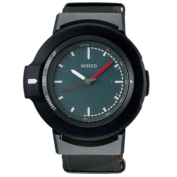 セイコーワイアード SEIKO WIRED WWツーダブ Bluetooth 腕時計 メンズ タイムコネクト  TYPE 01 AGAB405