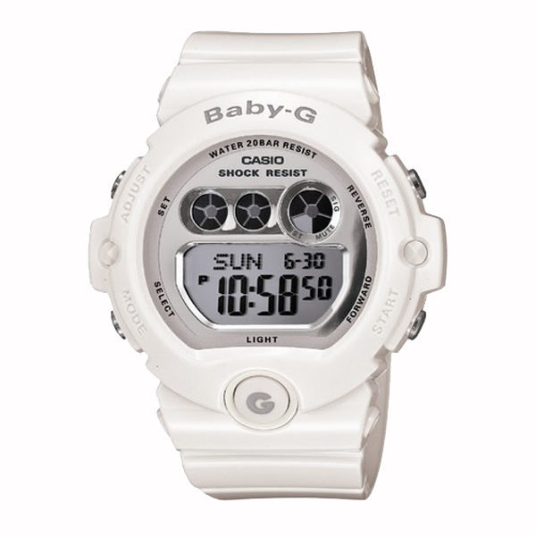 BABY-G ベイビージー CASIO カシオ 腕時計 【国内正規品】 レディース ホワイト BG-6900-7JF 【送料無料】