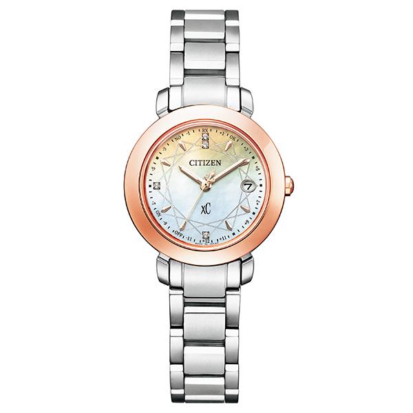 xC クロスシー CITIZEN シチズン エコ・ドライブ電波時計 hikari collection Titania Happy Flight 限定モデル 腕時計 レディース ES9446-54X