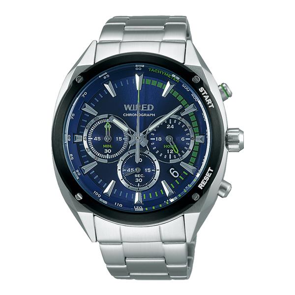 WIRED ワイアード SEIKO セイコー SOLIDITY クロノ 【国内正規品】 腕時計 メンズ AGAW444 【送料無料】