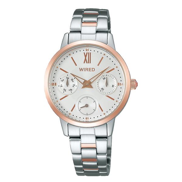 WIRED f ワイアード エフ SEIKO セイコー PAIR STYLE ペアスタイル 【国内正規品】 腕時計 レディース AGET406 【送料無料】