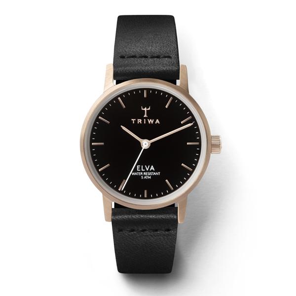 TRIWA トリワ ROSE ELVA BLACK CLASSIC 【国内正規品】 腕時計 レディース ELST102-EL010114 【送料無料】