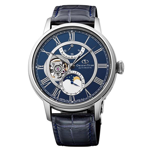 オリエントスター ORIENT STAR 腕時計 メンズ  機械式自動巻 メカニカルムーンフェイズ  RK-AM0002L