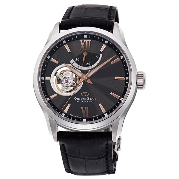 オリエントスター ORIENT STAR 腕時計 メンズ  機械式自動巻 コンテンポラリー セミスケルトン RK-AT0007N