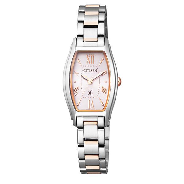 xC クロスシー CITIZEN シチズン エコ・ドライブ 角形 腕時計 レディース ソーラー ブランド  EW5544-51W 【送料無料】
