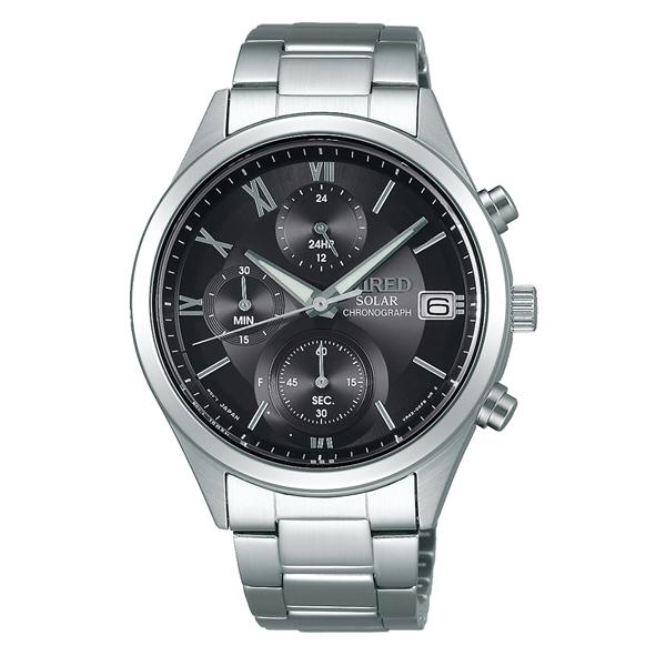 WIRED ワイアード SEIKO セイコー PAIR STYLE ペア・スタイル ソーラー 腕時計 AGAD098 【送料無料】