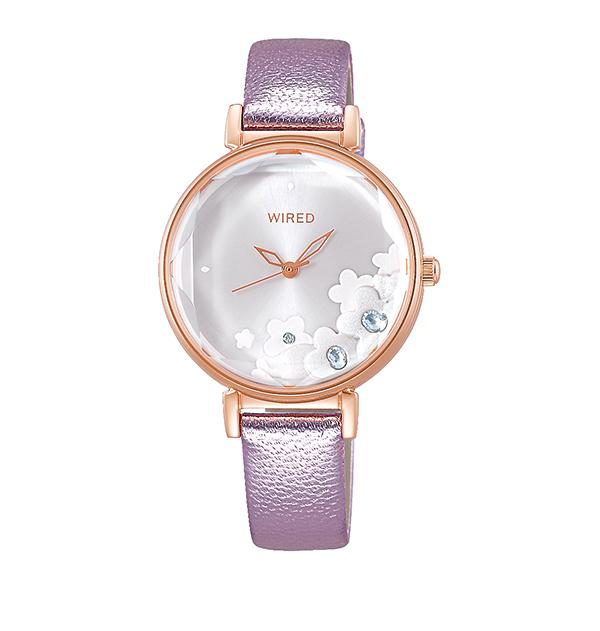 WIRED f ワイアード エフ SEIKO セイコー TOKYO GIRL MIX 腕時計 レディース  AGEK448