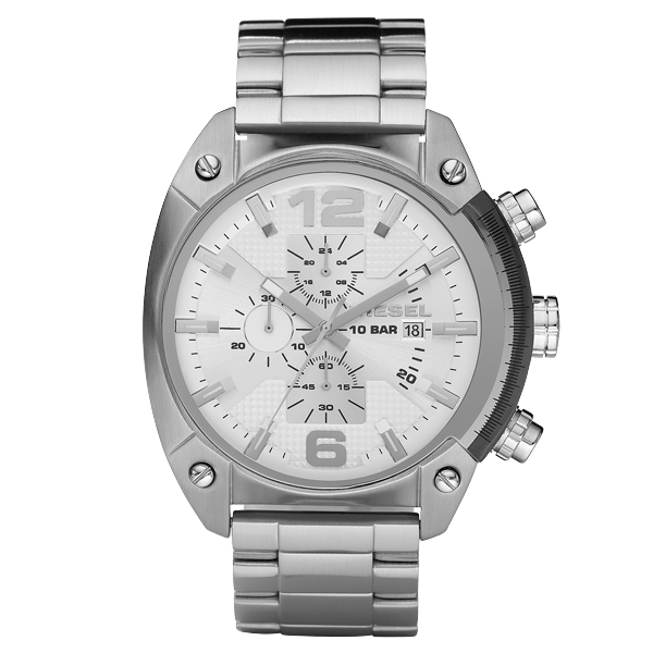 DIESEL ディーゼル OVERFLOW オーバーフロー メンズ 【国内正規品】 腕時計  DZ4203 【送料無料】