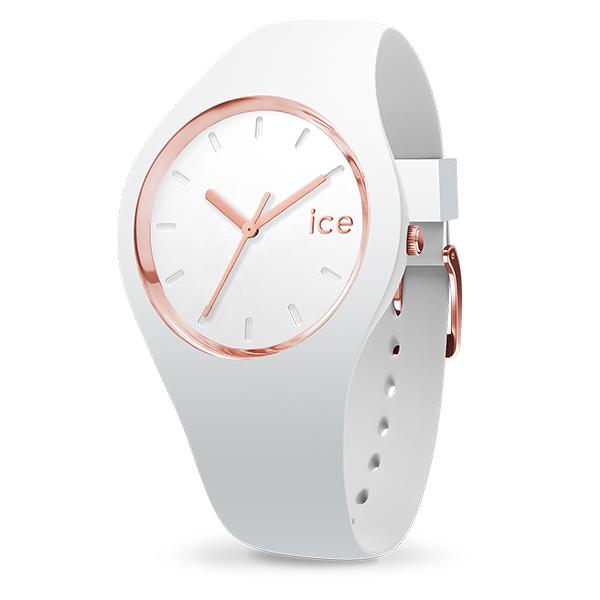 ICEWATCH アイスウォッチ ICE glam アイスグラム ホワイト ローズ-ゴールド スモール 000977 腕時計 レディス ICE-GL.WRG.S.S