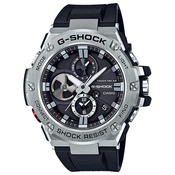 G-SHOCK ジーショック CASIO カシオ G-STEEL タフネスクロノグラフ  【国内正規品】  腕時計 GST-B100-1AJF 【送料無料】