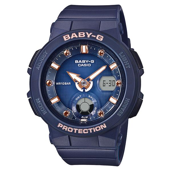 BABY-G ベイビージー CASIO カシオ BEACH TRAVELER SERIS 腕時計 レディース BGA-250-2A2JF