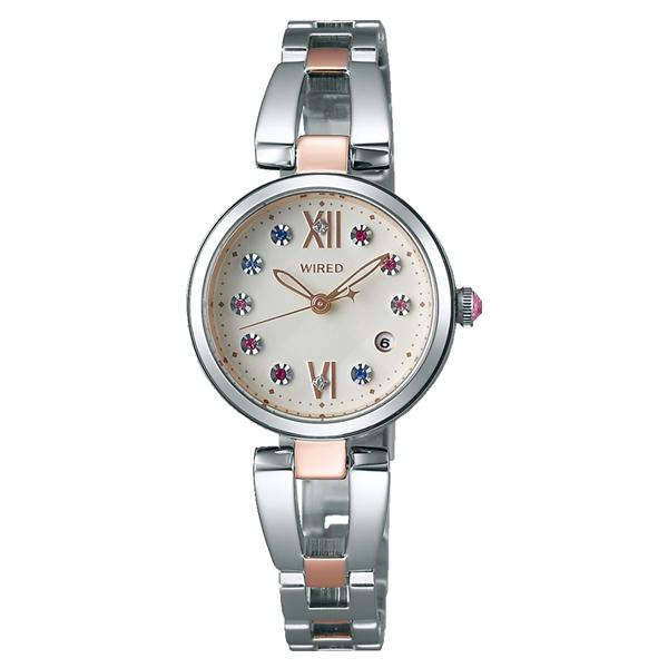 WIRED f ワイアード エフ SEIKO セイコー クリスマス限定 1000本限定 【国内正規品】 腕時計 レディース AGEK738 【送料無料】