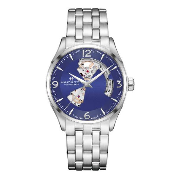 HAMILTON ハミルトン JAZZMASTER VIEWMATIC ジャズマスター ビューマチック オープン ハート 国内正規品 腕時計 メンズ  H32705141 【送料無料】