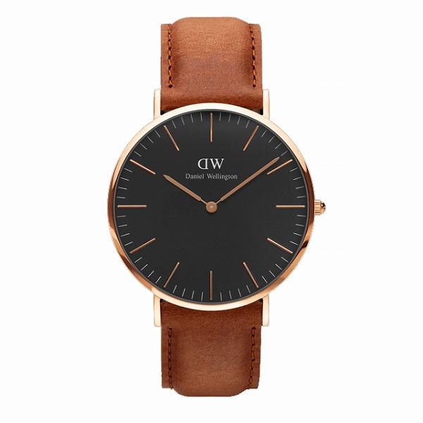 Daniel Wellington ダニエルウェリントン CLASSIC BLACK Durham 40mm 【国内正規品】 腕時計 DW00100126 【送料無料】