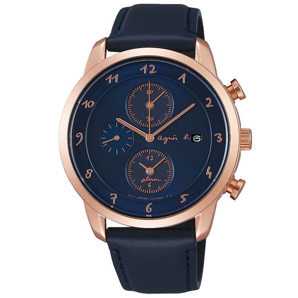 agnesb. アニエスベー 腕時計 メンズ Marcello マルチェロ ソーラー agnesb.homme TiCTAC別注ペアモデル FBRD713