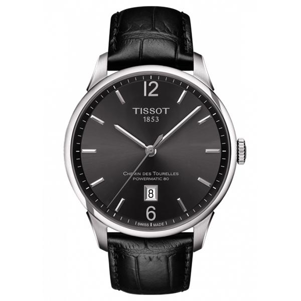 TISSOT ティソ CHEMIN DES TOURELLES AUTOMATIC シュマン・デ・トゥレル T-クラシック 機械式自動巻 スイス製 腕時計 メンズ 送料無料 T0994071644700