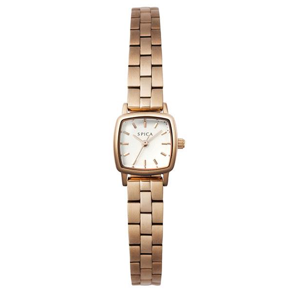 TiCTACオリジナル SPICA スピカ 腕時計 レディース スクエア SPI57-PGM