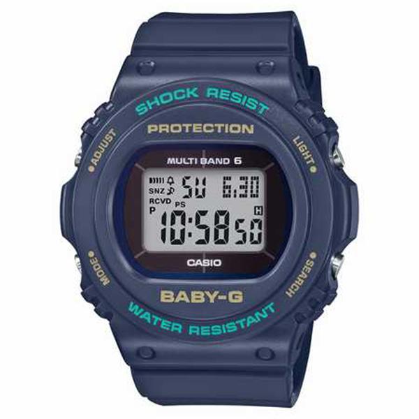 BABY-G カシオ ベイビージー 電波ソーラー 腕時計 レディス BGD-5700-2JF