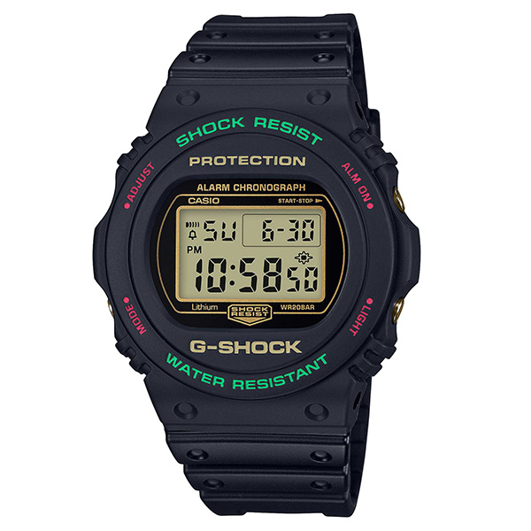 G-SHOCK カシオ Gショック SPECIAL COLOR Throwback 1990s  腕時計 メンズ DW-5700TH-1JF