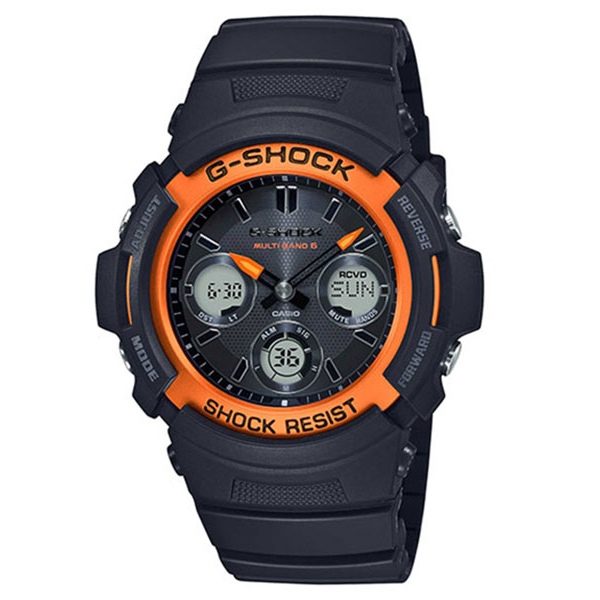 G-SHOCK カシオ Gショック FIRE PACKAGE'20 ファイアー・パッケージ2020年モデル 専用BOX 腕時計 メンズ AWG-M100SF-1H4JR