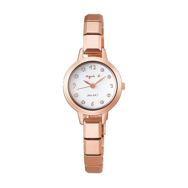 agnes b. アニエスベー マルチェロ ソーラーファム 【国内正規品】 腕時計 レディース FBSD950 【送料無料】